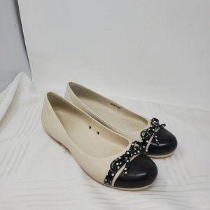 Crocs Women's Slip On Cap Toe Flat Shoes